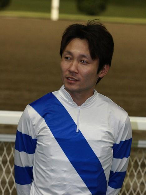 111007-SJT第1ステージ騎手紹介式-赤岡修次騎手-1-large