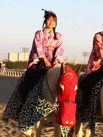 川崎競馬の誘導馬01月開催 獅子舞 和服Ver-120102-09