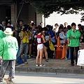 Photos: トップ、第三走者