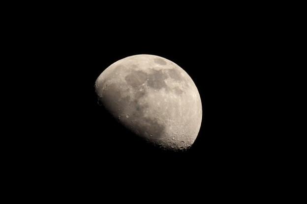 Photos: 十日夜の月