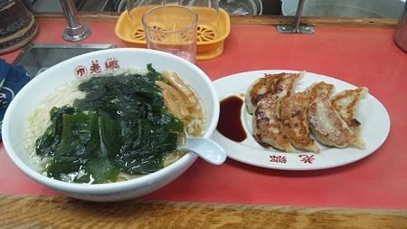 たん麺と餃子@老郷本店