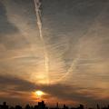 写真: 空はキャンパス