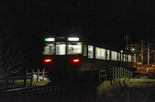 2011年の最終電車。