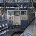 Photos: 115系、甲府駅にて。
