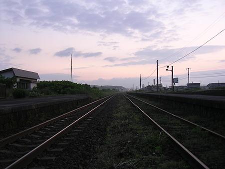 山崎駅ホーム2