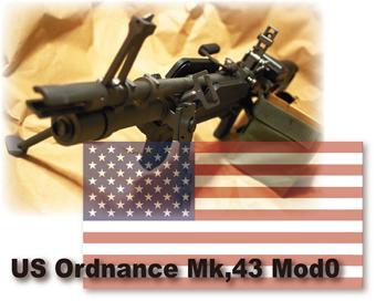 U.S. Ordnance Mk,43 Mod0