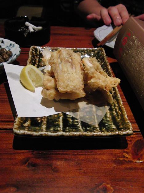 福岡 大名 寺田屋 2012/01/14 フグから揚げ