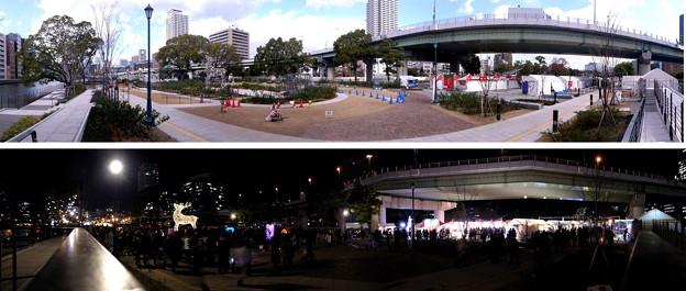 大阪中之島公園(1) wp_k062