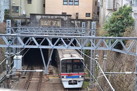 トンネル×3700形@上野桜木周辺[4/4]