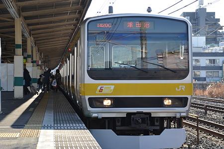 E231系0番台@平井[3/28]