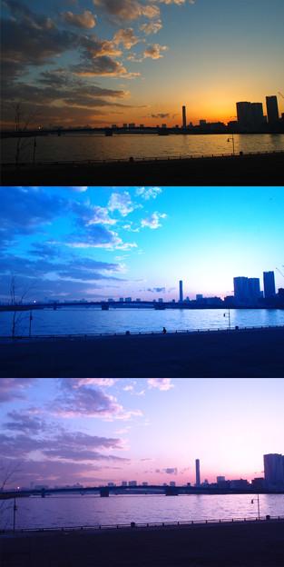 写真: Trois couleurs