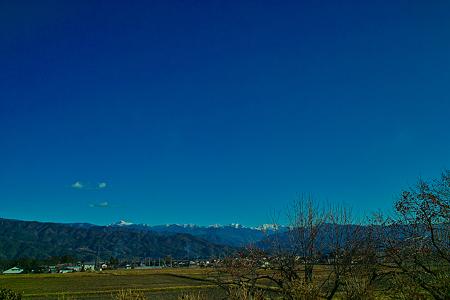 飯島町から望む中央アルプス(SDIM0681)