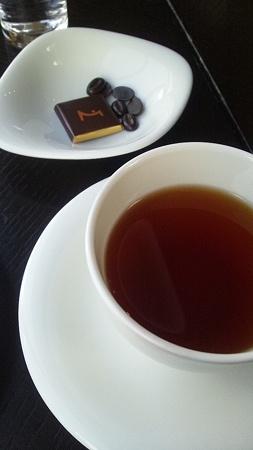 チョコレートと紅茶@La Maison du Chocolat