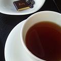 写真: チョコレートと紅茶@La Maison du Chocolat