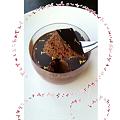 写真: チョコレートムースの様子@La Maison du Chocolat