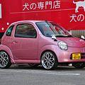 桜カラーのスズキ ツイン