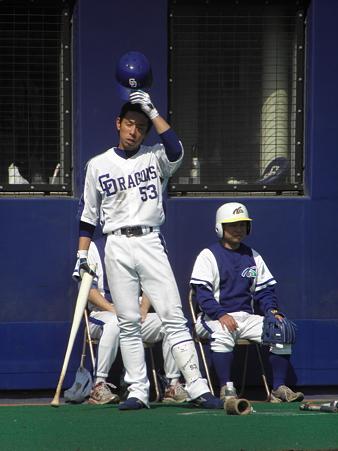 057 出場機会に貪欲に、柳田は頑張ってます