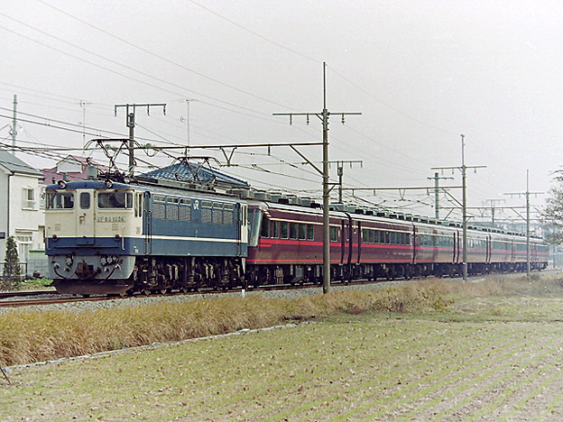 EF 65 1024 サロンエクスプレス東京