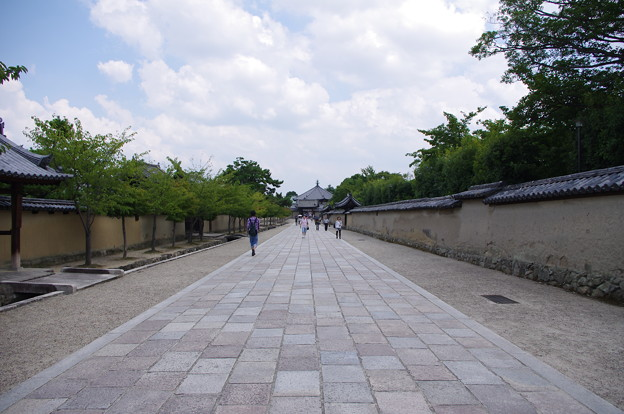 Photos: 法隆寺参道
