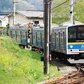 春の新型電車