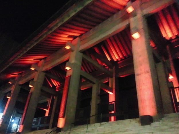 北御堂ライトアップ(3)
