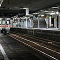 富士駅の夜