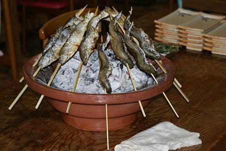 09岩魚塩焼き