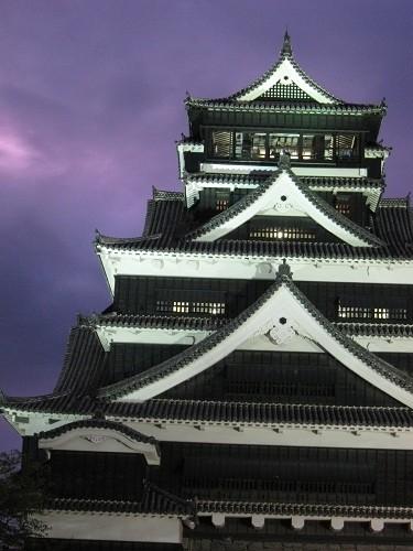 Photos: 中秋の名月 熊本城2