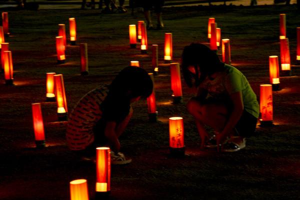 鎮魂の竹灯り-9
