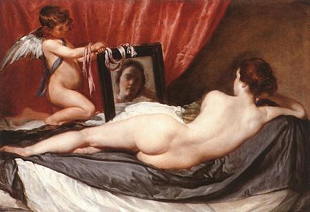 ベラスケス「ヴィーナスの化粧」1647-51