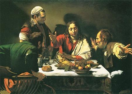 カラヴァッジオ「エマオの晩餐」
