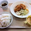 写真: 札幌市建設局下水道庁舎食堂 日替わり(タラフライ)