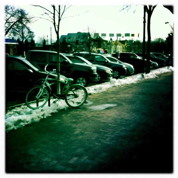 写真: Parking Space