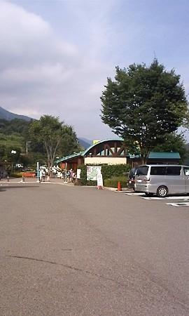 去年休憩した道の駅。