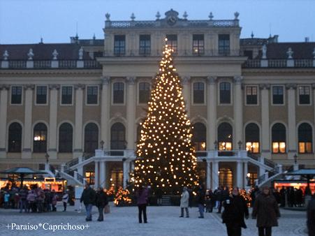 シェーンブルグ宮殿のクリスマス