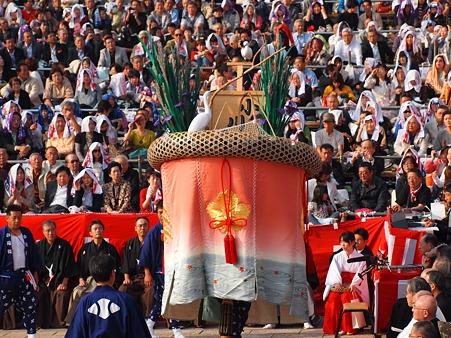 小川町の傘鉾