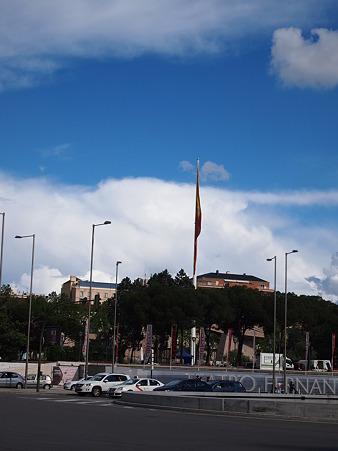 一番大きなスペインの旗