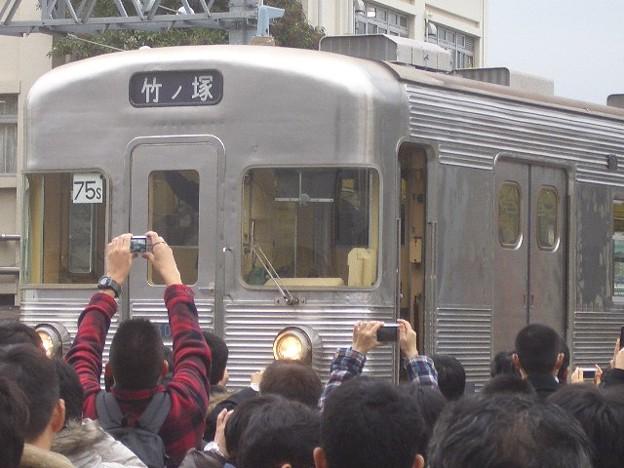 日比谷線 竹ノ塚行先幕 CIMG7391