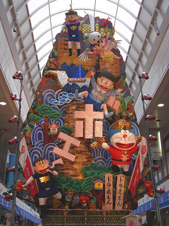 博多祇園山笠 2011 飾り山 川端中央街 ドラえもん(どらえもん)1