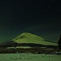 Photos: 雪原の夜富士