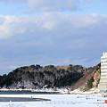 冬の海水浴場