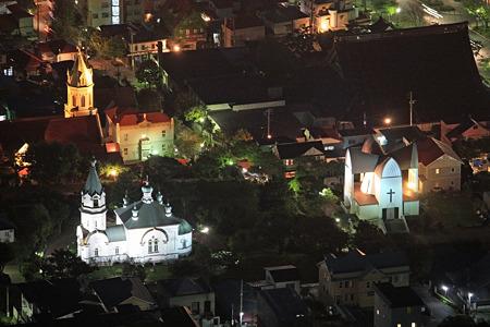 函館元町 教会群のライトアップ IMG_1029_2