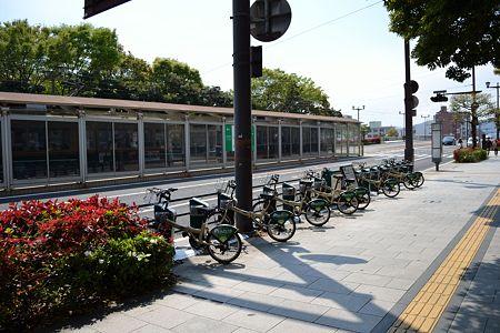 D-1 旧市民球場前サイクルポート