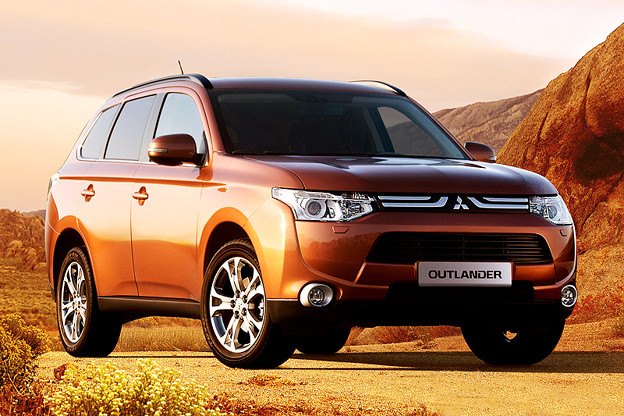 New Mitsubishi OUTLANDER 2012-2013