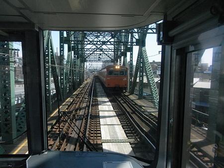 大阪環状線の車窓(弁天町→天王寺)3