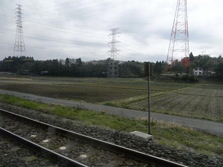 快速エアポート成田の車窓56