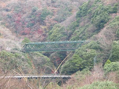 箱根登山電車の車窓(塔ノ沢駅→大平台駅)7