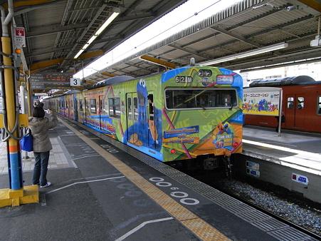 103系桜島線(西九条駅)5