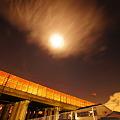 Photos: 月の灯り