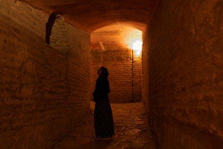 2011.01.28 トルコ イスタンブル アヤソフィア 上階への道-2